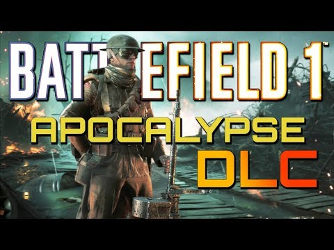 Battlefield 1: NEW LMG! 102 Kills on Apocalypse DLC! PS4 PRO Multiplayer Gameplay