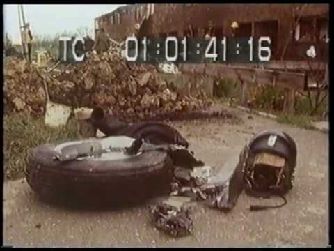 RAF Canberra Crash 1977