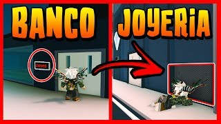 TRUCO ROBAR BANK AND JOYERIA when CLOSED in JAILBREAK - Roblox