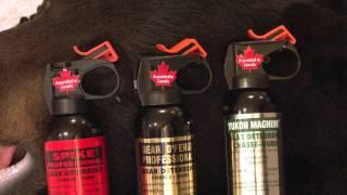 Defense Aerosols Bear Spray