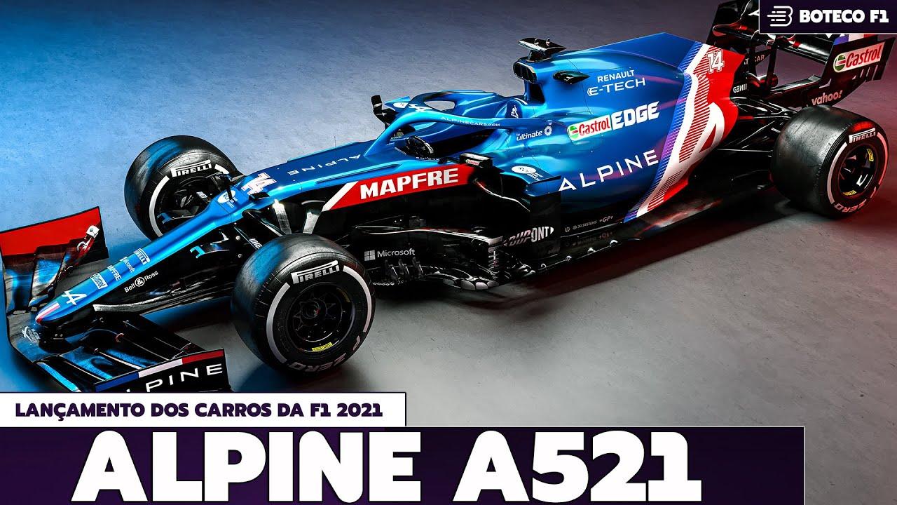 Lançamento do novo carro da ALPINE | Lá vem a FÓRMULA 1 2021! 🏎🔴😍