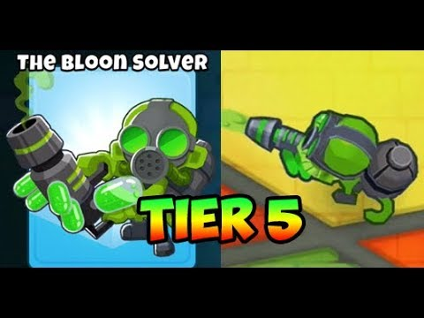 Bloons TD 6 - BLOON SOLVER - 5TH TIER GLUE GUNNER