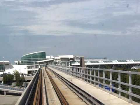 Canada Line SkyTrain - Sea Island Centre to YVR-Airport