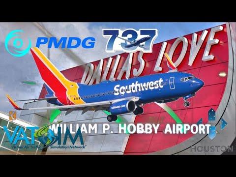 PMDG 737NGXu -700 Expansion On Vatsim. Love To Hobby