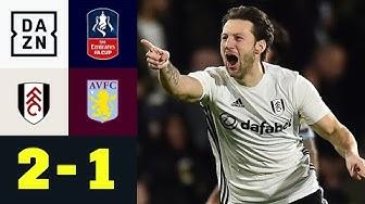 Kreuzeck-Gala: Arter entscheidet die Partie! Fulham - Aston Villa 2:1 | FA Cup | DAZN Highlights