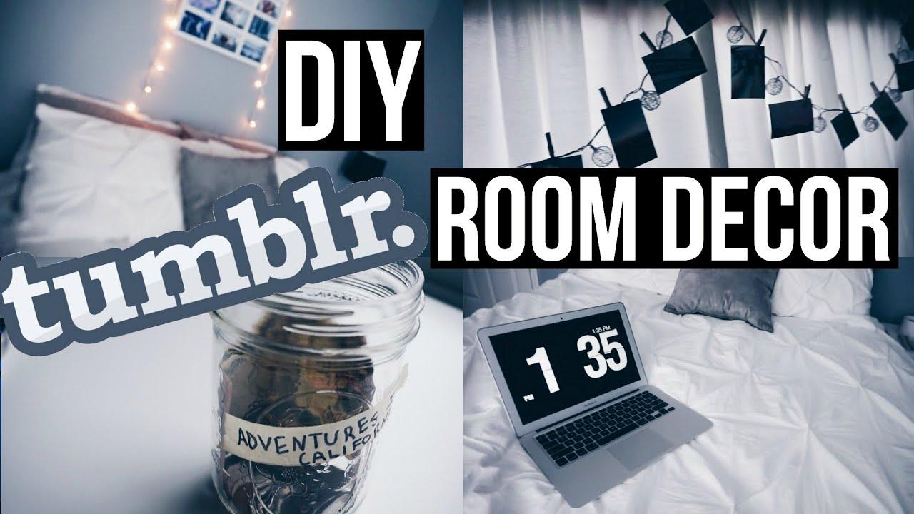 DIY Tumblr Room Decor  Lauren McDowell  YouTube