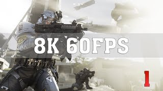 Call of Duty Infinite Warfare 8K PC Gameplay [8K 60FPS] No. 1 | RTX Titan SLI | ThirtyIR