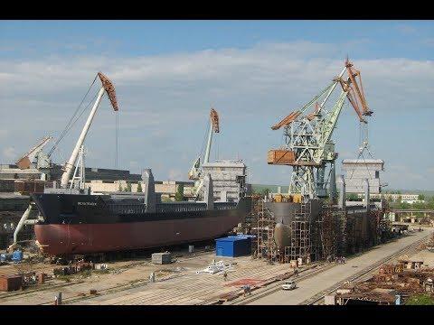 Крымское кораблестроение. Залив Море Севморзавод