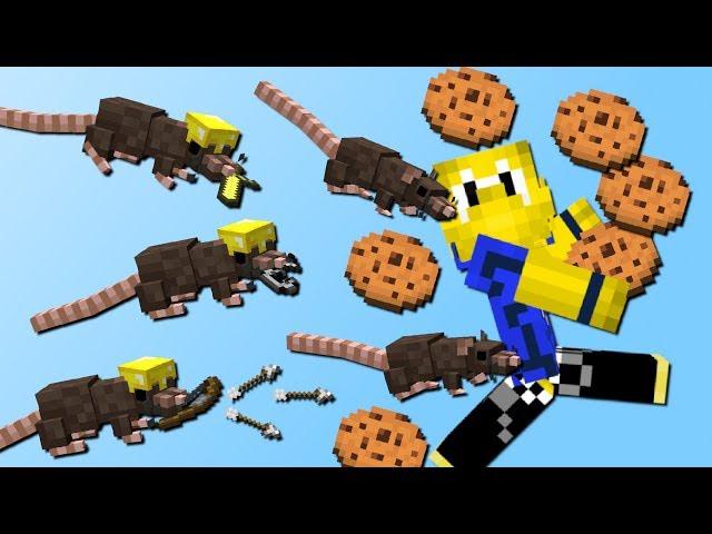 Gefährliche Ratten! (Essen klauen, Trollen, Items transportieren) - Mod Vorstellung