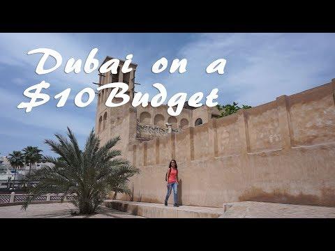 Dubai on a Budget: $10 in 1 Day? (Part 1- Old Dubai)