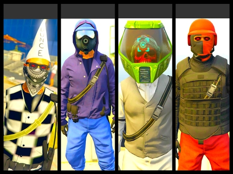 "GTA V ONLINE: ""TOP 10 MIGLIORI COMPLETI MODDATI"" - ""TOP 10 BEST MODDED OUTFITS SHOWCASE !"""