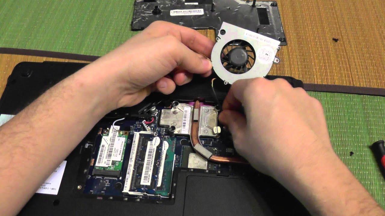 Lenovo T450s Fan Cleaning
