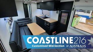 Coastline 21'6 Customised Mid Section Internal Overview