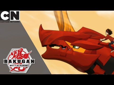 Bakugan Battle Planet | The Awesome Ones Save Los Volmos | Cartoon Network UK