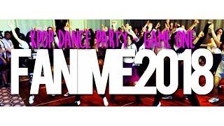 KPop Dance Party @ Fanime 2018 (GAME 1)