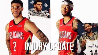 Lonzo Ball And Brandon Ingram Both CLEARED To Return On The Court... | INJURY UPDATE