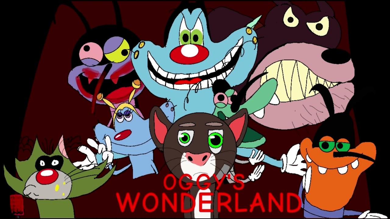 Download Oggy's Wonderland Poster for @Kaiju king Legend
