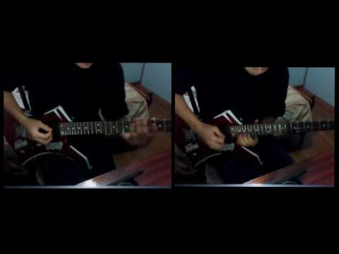 Dragonforce The Last Journey Home Guitar Solo Cover