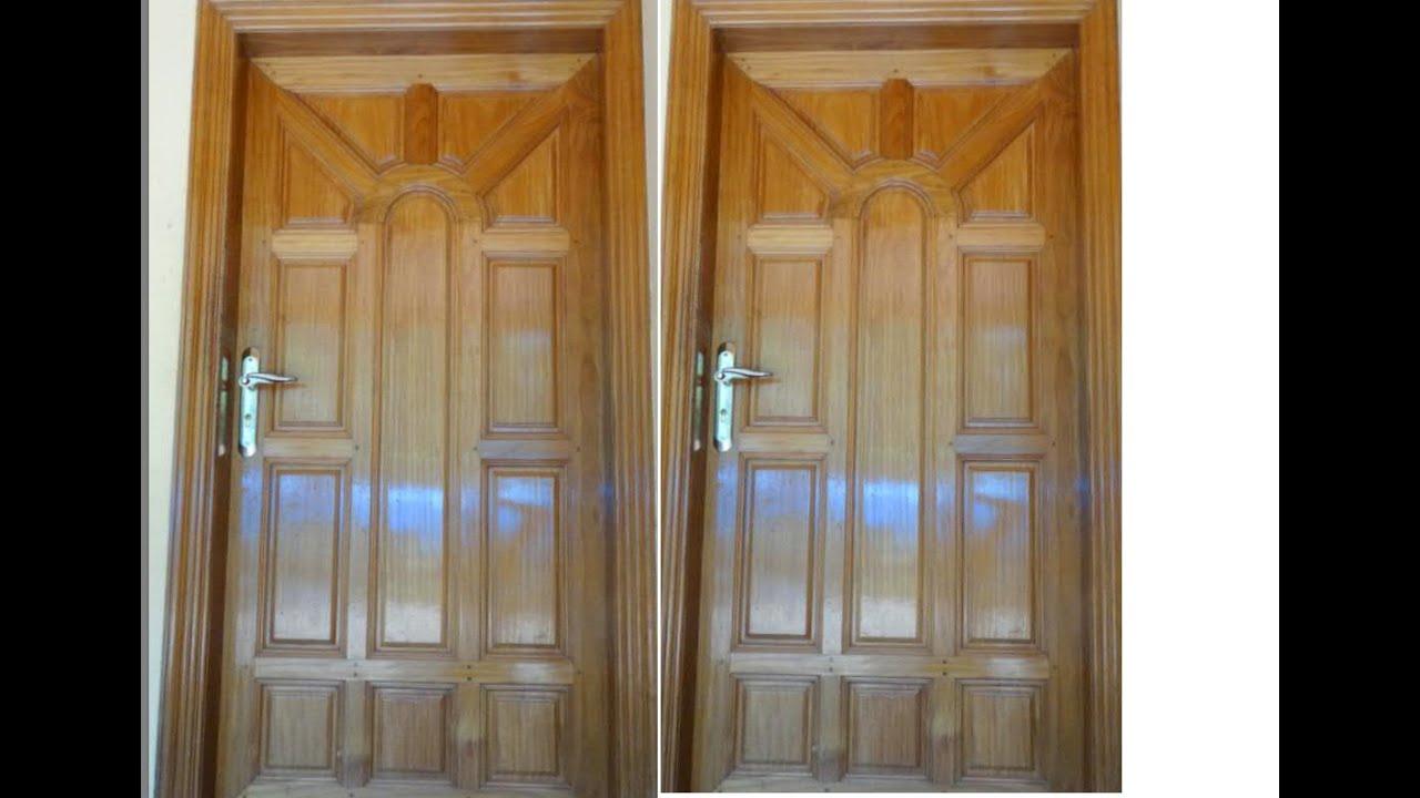 Beautiful Kerala House Front Door Design Youtube