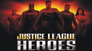 Liga da Justiça - O jogo - Justice League Heroes - Playstation 2