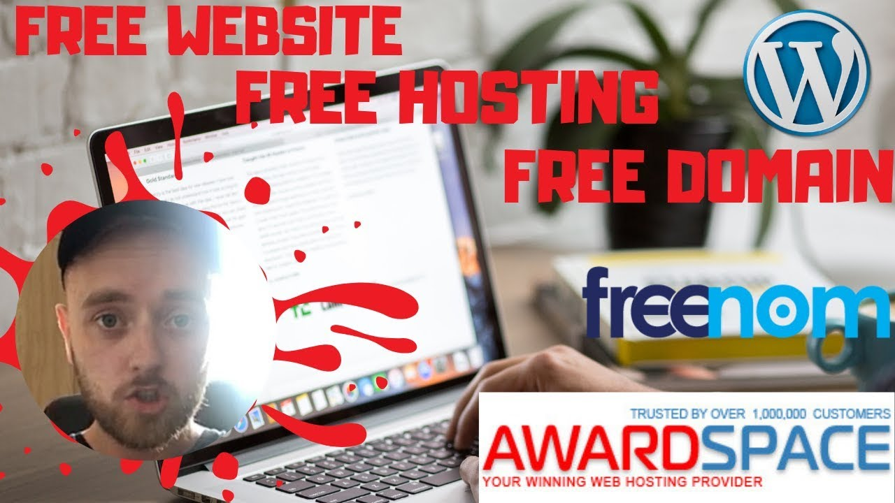 How To Build A Free Website - With Free Domain + Hosting With Wordpress