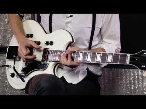 Supro Martinique Deluxe Electric Guitar