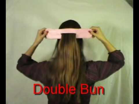 Ez Hair Bun In English Double Bun Roll A Bun Twist A Bun Half