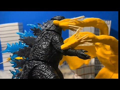 Godzilla king of the monster final battle