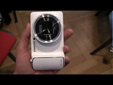 Samsung Galaxy Camera First Look