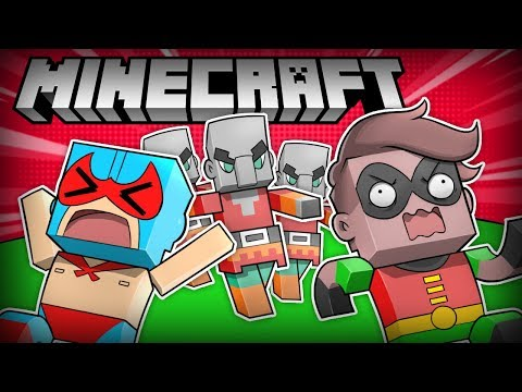 MINECRAFT NOOBS BECOME HEROES! (Minecraft Funny Moments, Highlights, Compilations)