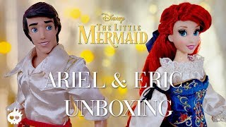 Doll Unboxing: Disney Limited Edition Designer - Ariel & Eric Review | The Little Mermaid