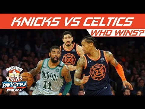 Who Wins New York Knicks vs Boston Celtics   Hoops N Brews