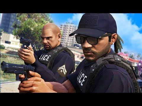 PLAYING AS THE POLICE ONLINE! | GTA 5 THUG LIFE #208 thumbnail