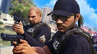 PLAYING AS THE POLICE ONLINE! | GTA 5 THUG LIFE #208