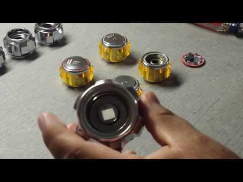 How to disassemble a Vintage Sink Knob - Obi-Wan ANH Lightsaber Pommel