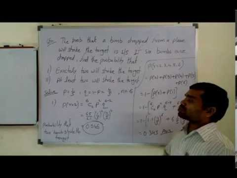 Binomial Probability Distribution in Hindi