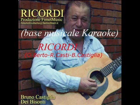 RICORDI base musicale karaoke