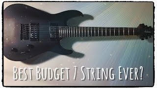 Jackson JS22-7 Dinky - Budget 7 String Review