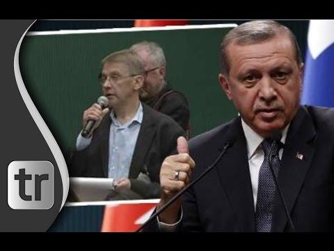Finnischer Journalist sucht vergeblich nach Diktatur in der Türkei [DEUTSCH] Erdoğan Live-Press Conf