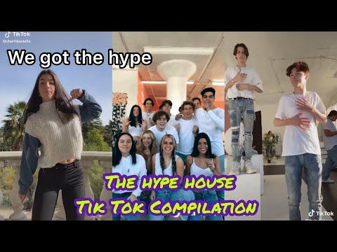 Tiktok The Hype House Hot Tiktok 2020