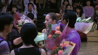 2014年9月14日東京ダンスグランプリで青木拓哉・寺門亮子 組が引退デモ...
