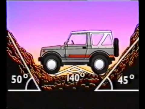 Vídeo Promocional Suzuki Santana SJ410 Y SJ413
