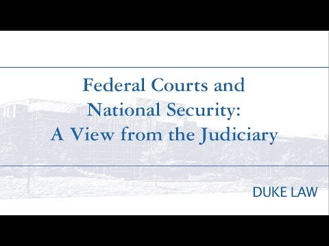 LENS Conference 2014: LAWshaping in National Security | Federal Courts & National Security