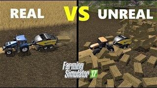 Farming Simulator 17 : REALISTIC vs UNREALISTIC FARM!!! - Gameplay Comparison -