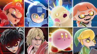 【Super Smash Bros Ultimate】 All 76 Characters All Final Smashes (All DLC)