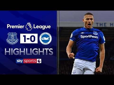 Richarlison's smart finish wins it for Everton! | Everton 1-0 Brighton | Premier League highlights