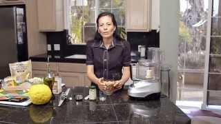 Paté de garbanzo - o puré de garbanzo - hummus - Para el Cholesterol Alto - Rico en Proteina