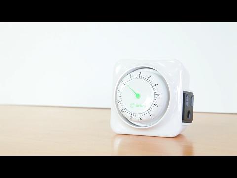 Century 12 Hour Mechanical Countdown Timer BNH-60/U92