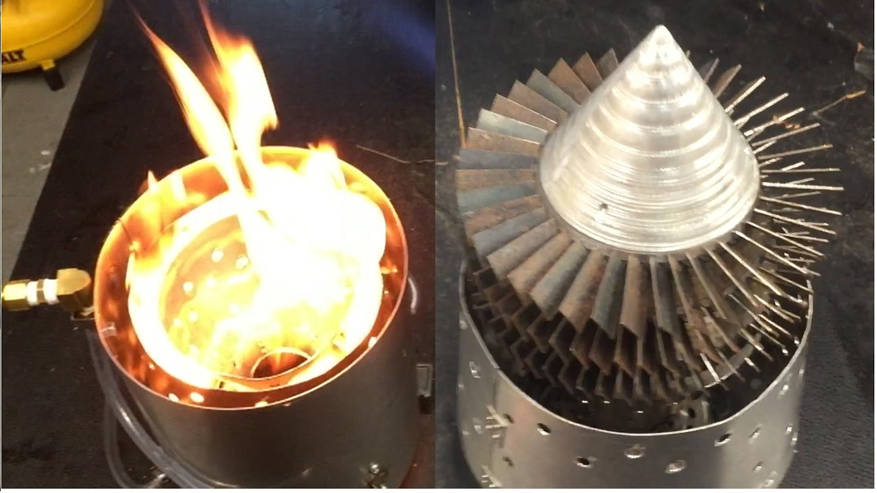 & Homemade Combustion Chamber and Turbine for Jet Engine - YouTube azcodes.com