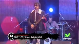 Ciro Y Los Persas - Banda De Garaje y Baron Rojo - Cosquin Rock 2014